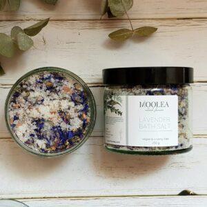 lavender bath salt 250g
